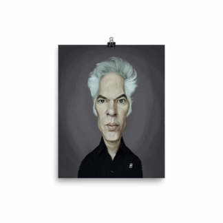 Jim Jarmusch (Celebrity Sunday) Art Print Poster