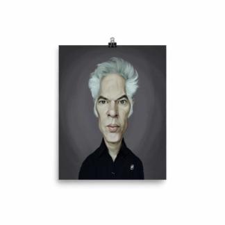 Jim Jarmusch (Celebrity Sunday) Art Print Poster