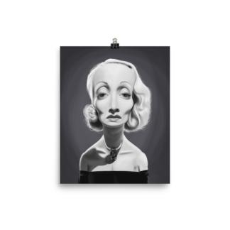 Marlene Dietrich (Celebrity Sunday) Art Print Poster