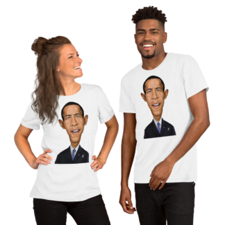 Barack Obama (Celebrity Sunday) Short-Sleeve Unisex T-Shirt
