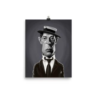 Buster Keaton (Celebrity Sunday) Art Print Poster