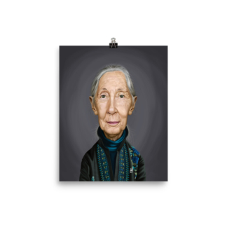 Jane Goodall (Celebrity Sunday) Art Print Poster