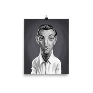 Robert Mitchum (Celebrity Sunday) Art Print Poster