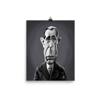 Humphrey Bogart (Celebrity Sunday) Art Print Poster