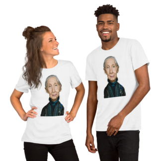 Jane Goodall (Celebrity Sunday) Short-Sleeve Unisex T-Shirt