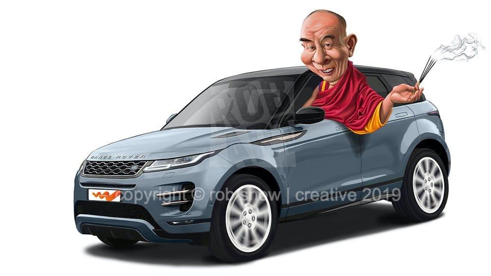 Range Rover Buddhist Final