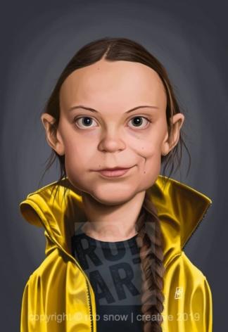 Celebrity Sunday - Greta Thunberg