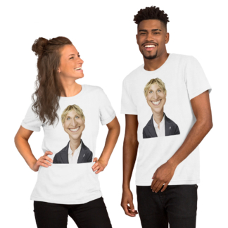 Ellen Degeneres (Celebrity Sunday) Short-Sleeve Unisex T-Shirt