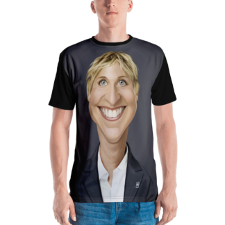 Ellen Degeneres (Celebrity Sunday) All-Over T-shirt