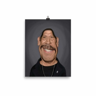Danny Trejo (Celebrity Sunday) Art Print Poster