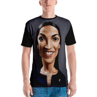 Alexandria Ocasio-Cortez (Celebrity Sunday) All-Over T-shirt