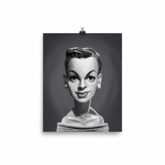 Judy Garland (Celebrity Sunday) Art Print Poster