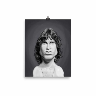 Jim Morrison (Celebrity Sunday) Art Print Poster