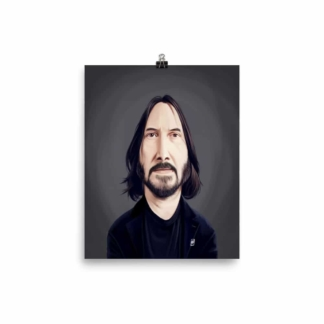 Keanu Reeves (Celebrity Sunday) Art Print Poster