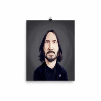 Keanu Reeves (Celebrity Sunday) Art Print Poster