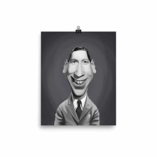 George Formby (Celebrity Sunday) Art Print Poster