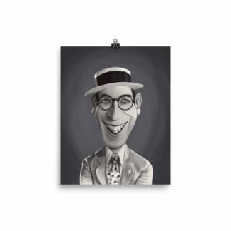 Harold Lloyd (Celebrity Sunday) Art Print Poster