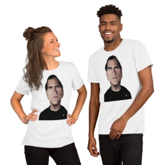 Joaquin Phoenix (Celebrity Sunday) Short-Sleeve Unisex T-Shirt