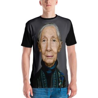 Jane Goodall (Celebrity Sunday) All-Over T-shirt