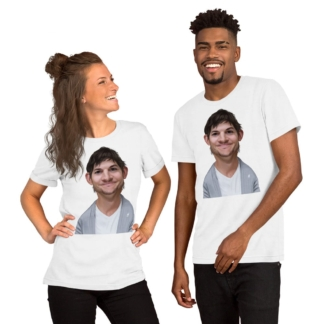 Ashton Kutcher (Celebrity Sunday) Short-Sleeve Unisex T-Shirt