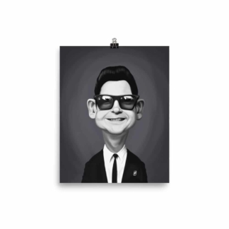 Roy Orbison (Celebrity Sunday) Art Print Poster