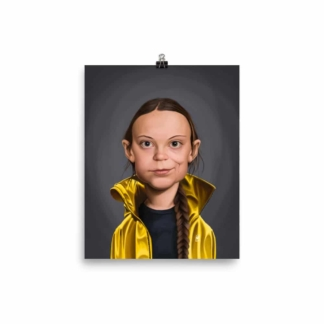 Greta Thunberg (Celebrity Sunday) Art Print Poster
