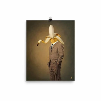 Peeled (Suited Series) Art Print Poster