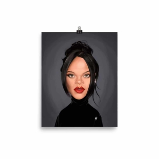 Rihanna (Celebrity Sunday) Art Print Poster