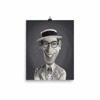 Harold Lloyd (Celebrity Sunday) Art Print Poster