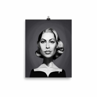 Grace Kelly (Celebrity Sunday) Art Print Poster