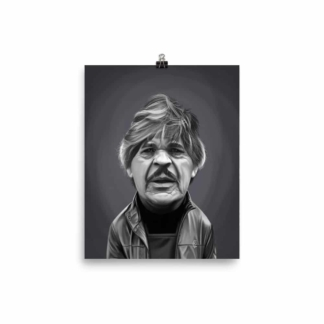 Charles Bronson (Celebrity Sunday) Art Print Poster