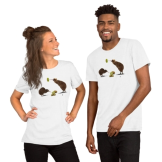 Kiwi (Animal Behaviour) Short-Sleeve Unisex T-Shirt