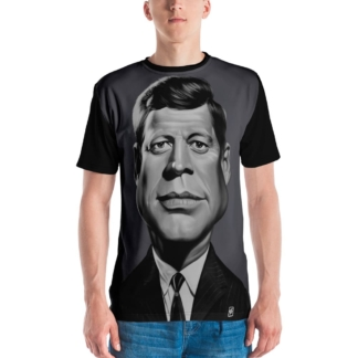 John F Kennedy (Celebrity Sunday) All-Over T-shirt