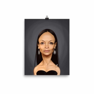 Thandie Newton (Celebrity Sunday) Art Print Poster