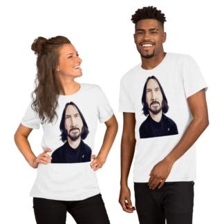 Keanu Reeves (Celebrity Sunday) Short-Sleeve Unisex T-Shirt