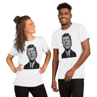 John F Kennedy (Celebrity Sunday) Short-Sleeve Unisex T-Shirt