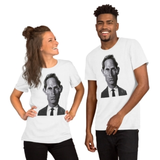 Charlton Heston (Celebrity Sunday) Short-Sleeve Unisex T-Shirt