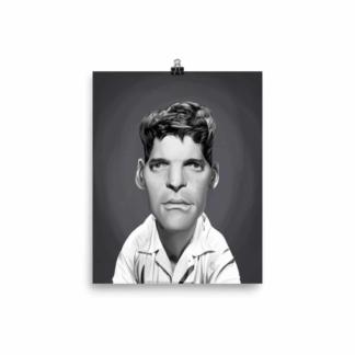 Burt Lancaster (Celebrity Sunday) Art Print Poster