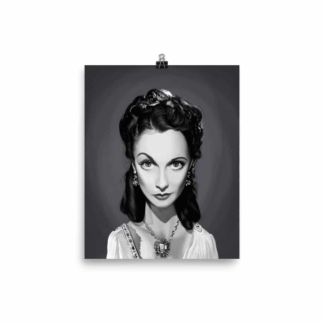 Vivien Leigh (Celebrity Sunday) Art Print Poster