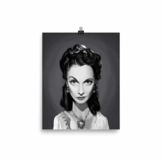 Vivien Leigh (Celebrity Sunday) Art Print Poster