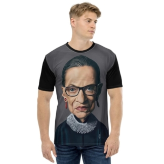 Ruth Bader Ginsburg (Celebrity Sunday) All-Over T-shirt