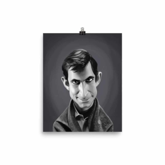 Anthony Perkins (Celebrity Sunday) Art Print Poster