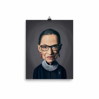 Ruth Bader Ginsburg (Celebrity Sunday) Art Print Poster