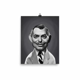 Clark Gable (Celebrity Sunday) Art Print Poster