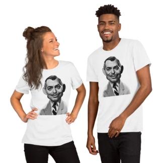 Clark Gable (Celebrity Sunday) Short-Sleeve Unisex T-Shirt