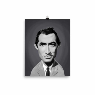 Gregory Peck (Celebrity Sunday) Art Print Poster