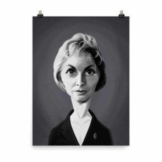 Janet Leigh (Celebrity Sunday) Art Print Poster