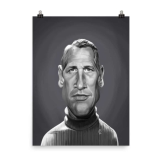 Paul Newman (Celebrity Sunday) Art Print Poster