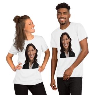 Kamala Harris (Celebrity Sunday) Short-Sleeve Unisex T-Shirt