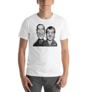 Abbott and Costello (Celebrity Sunday) Short-Sleeve Unisex T-Shirt